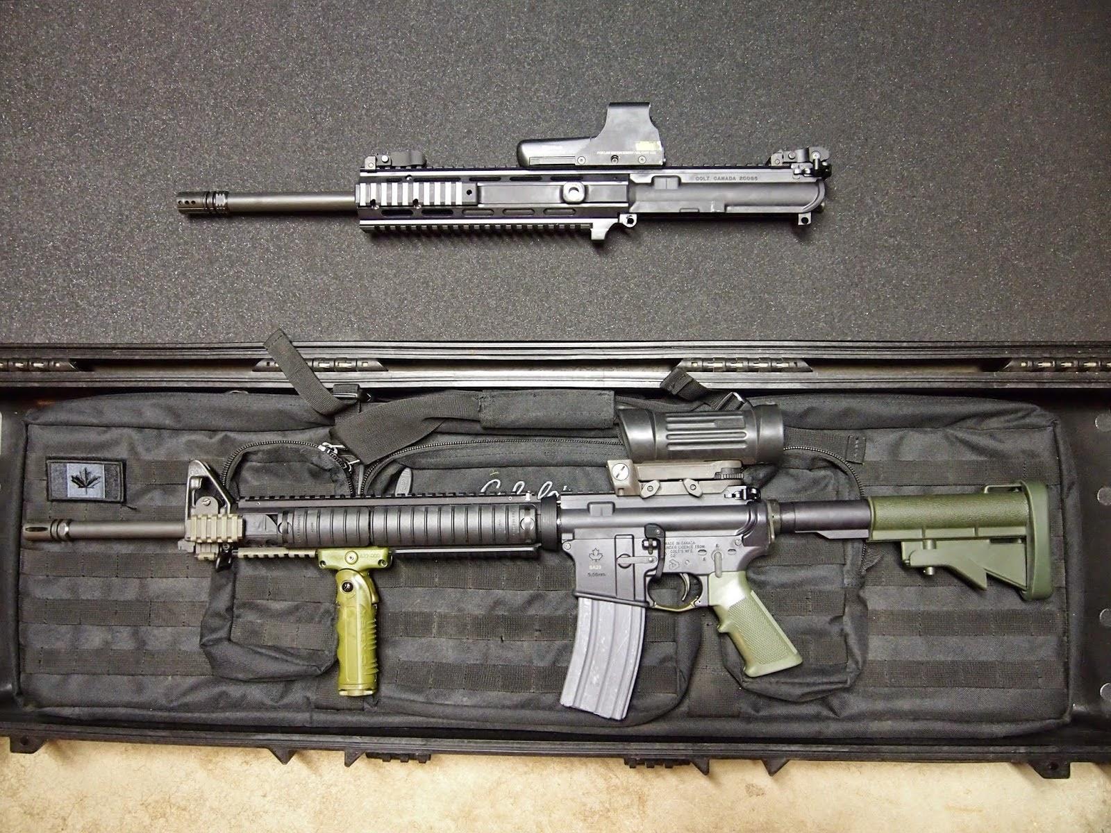 Diemaco SA20 / SA15 7 IOP [Archive] - Gun Owners of Canada