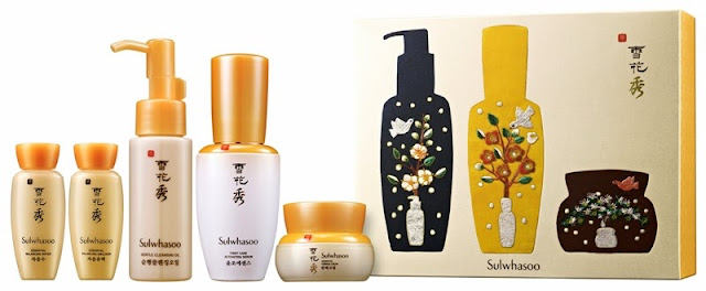 Sulwhasoo Gift Sets, Holiday Moments, sulwhasoo, skincare, korea skincare, Sulwhasoo Essential Holiday Sharing Set