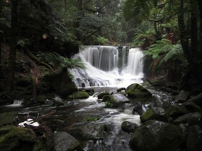 Cascada Horseshoe. Mount Field, Tasmania