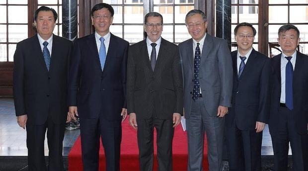 رئيس الحكومة يستقبل نائب رئيس الجمعية الشعبية الوطنية بجمهورية الصين الشعبية