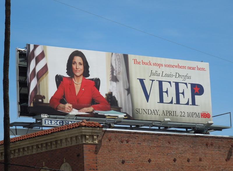 Veep HBO billboard