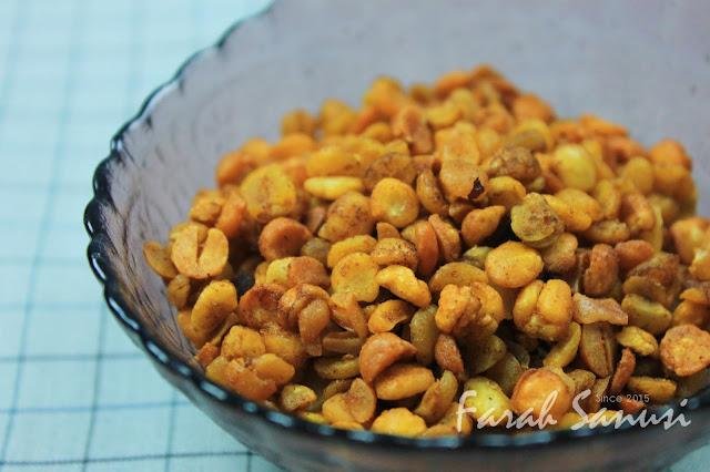 Resepi Kacang Dhal Goreng