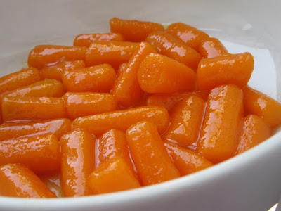 Glazed carrots a perfect side dish