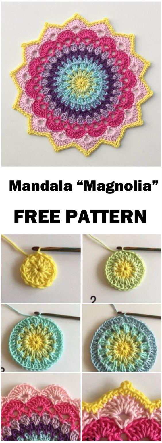 HECHO A MANO.CL ** ( Hecho en Chile).: Mandalas tejidos a crochet.