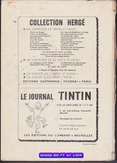 Recueil Tintin, édition Belge, numéro 102, 1970