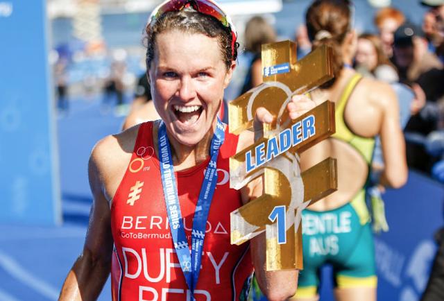 Flora Duffy es líder de la WTS y consigue su cuarta victoria