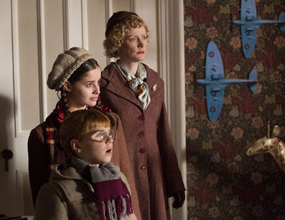 Dr Who, the Doctor, the Widow and the Wardrobe, Claire Skinner and kids