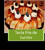 TARTA FRÍA DE TURRÓN