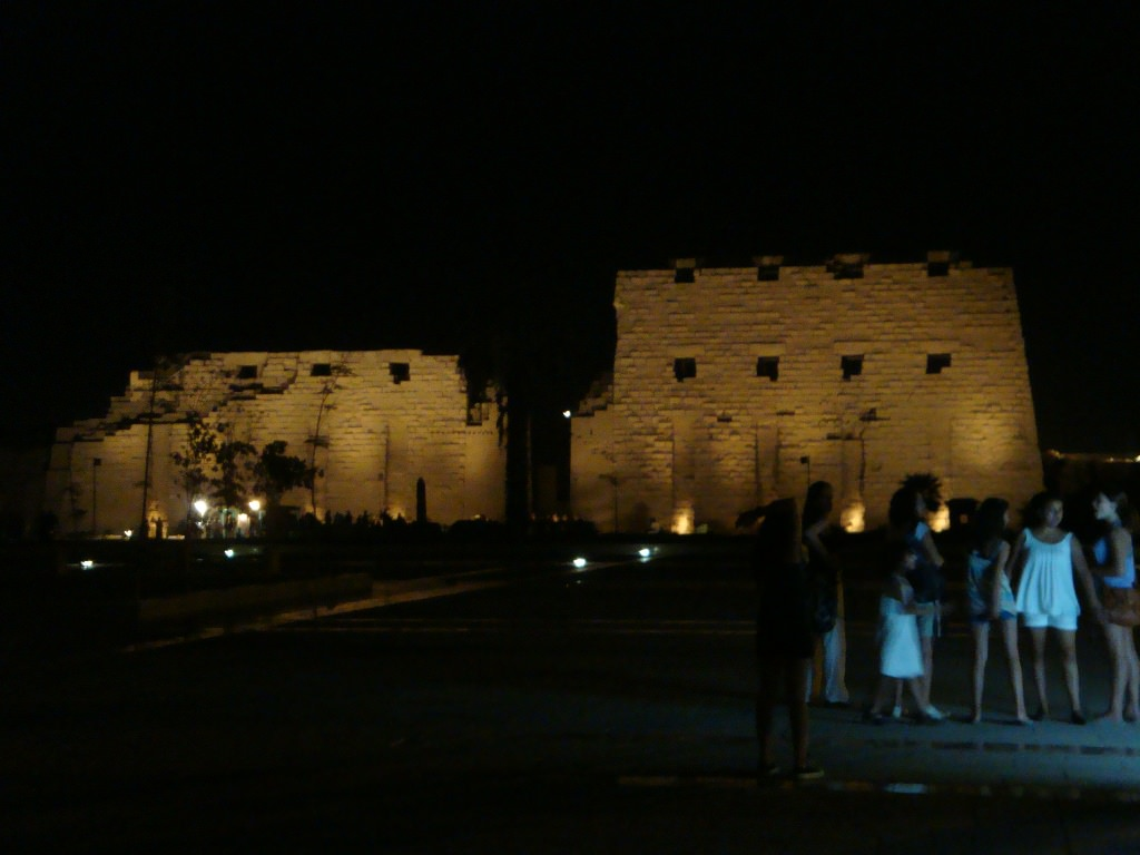 Templo de Karnak no Egito