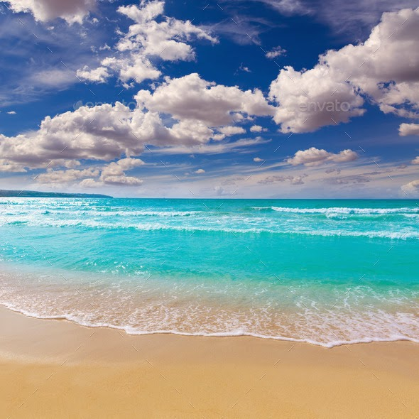 Majorca sArenal arenal beach Platja de Palma