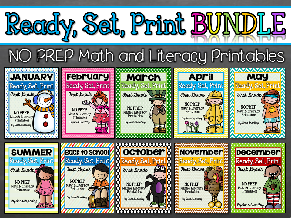 No-Prep Printables