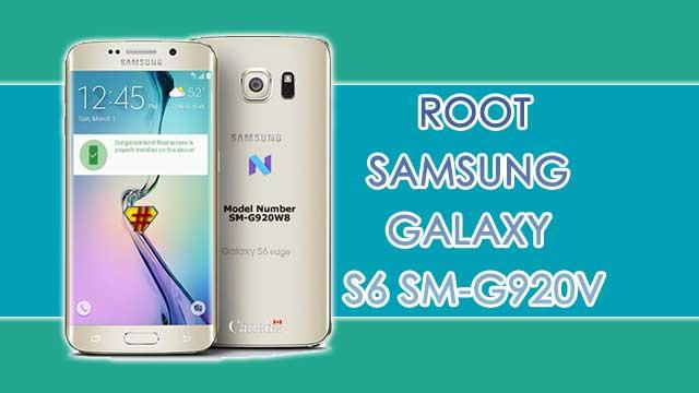 Cómo ROOTEAR Samsung Galaxy S6 SM-G920W8