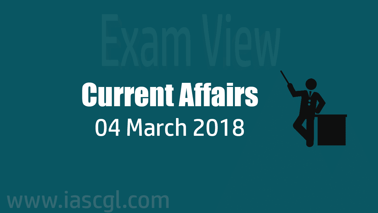 Current Affair 04 march 2018