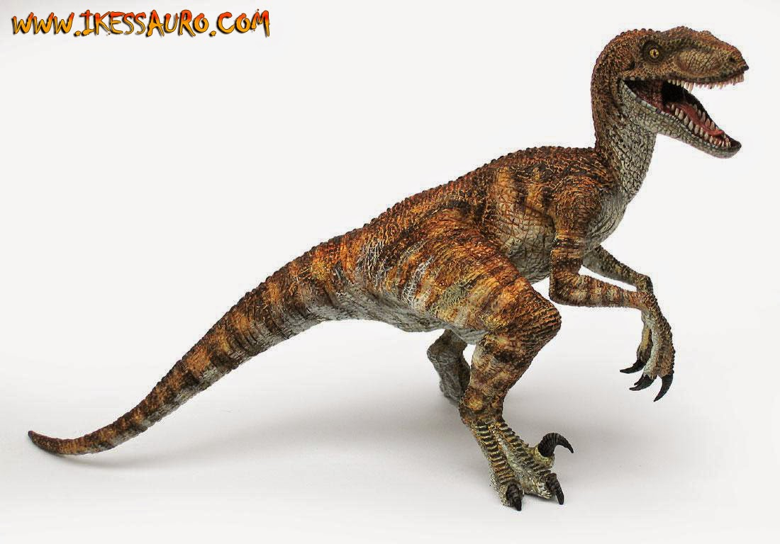 Brown Papo Velociraptor
