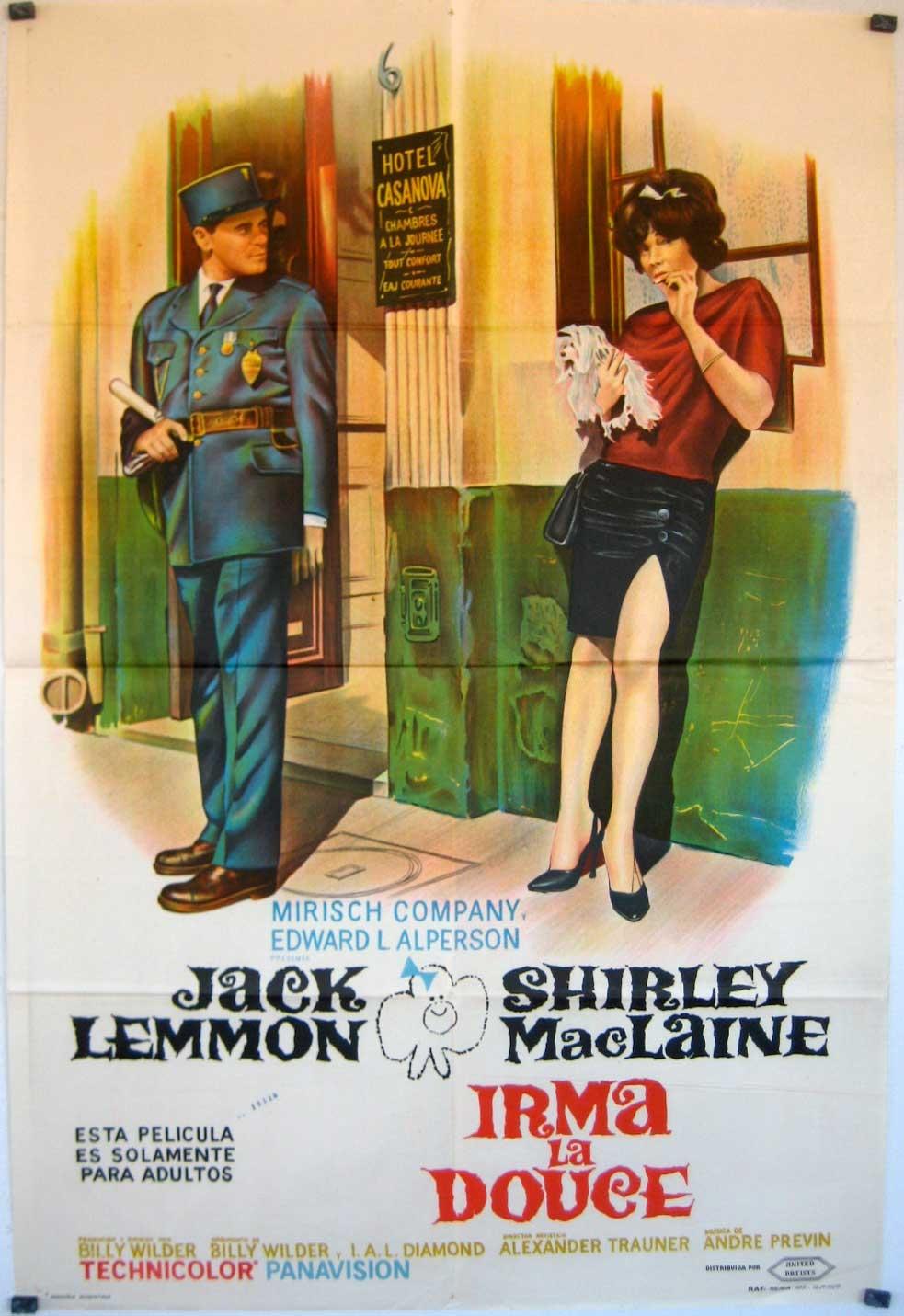 La magia del amor wilderiano se encuentra en IRMA LA DULCE (1963) a3816b927e21a