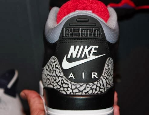 big sale ee47e e2a0d Here is new images via defy newyork of the Nike Air Jordan 3 III Retro  88  Black Cement Grey Sneaker which is rumored to release on black Friday, ...