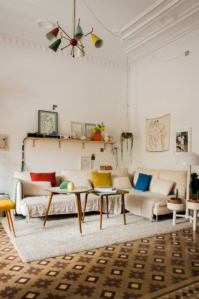 A Plant Filled Home in Barcelona via designaddictmom