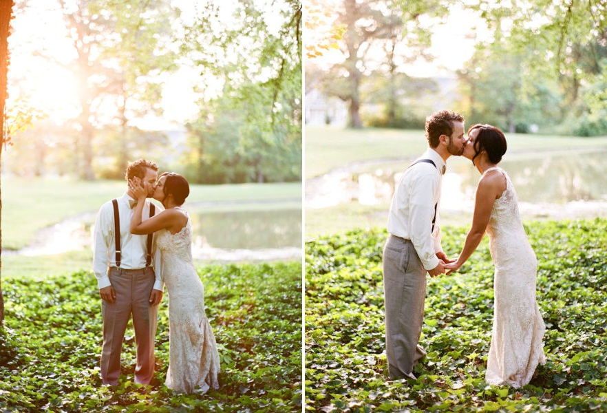 Our Love In October: Wedding Love: A Romantic Outdoor Wedding