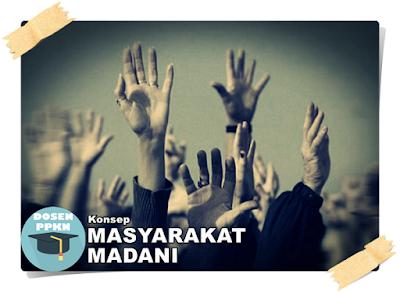 Masyarakat Madani, Pengertian Masyarakat Madani, Masyarakat Madani Adalah, Ciri Ciri Masyarakat Madani, Karakteristik Masyarakat Madani, Konsep Masyarakat Madani, Masyarakat Madani dalam Islam, Mewudukan Masyarakat Madani.