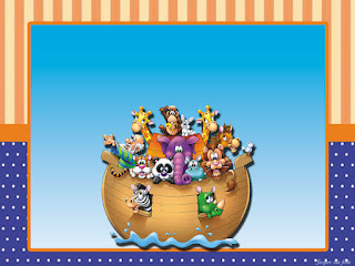Fiesta de Arca de Noé: Invitaciones e Imprimibles Gratis para Fiestas.