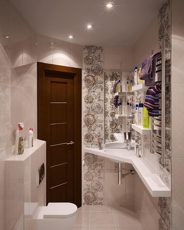 Desain Dinding Kamar Mandi Kreatif Foto Gambar Rumah