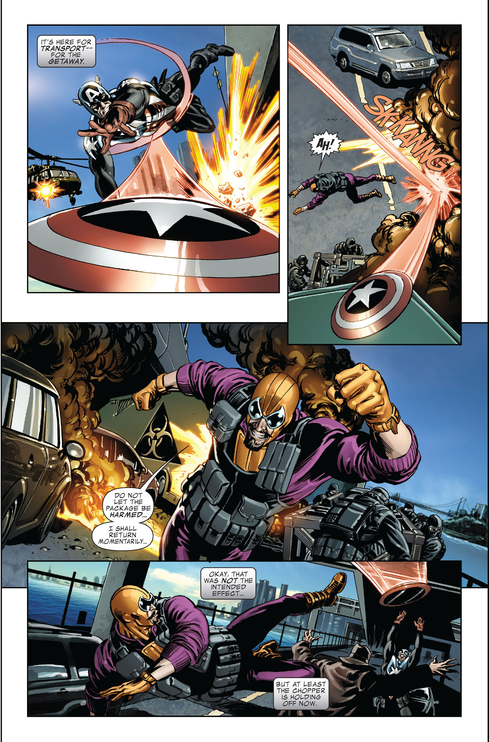 Read online Captain America (2005) comic -  Issue #45 - 15