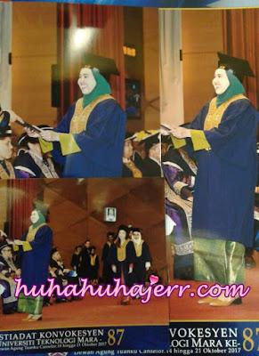 Cerita Konvokesyen Diploma Di UITM Shah Alam....