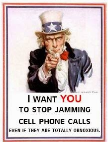 Cell phone jammer illegal - Uncle Sam