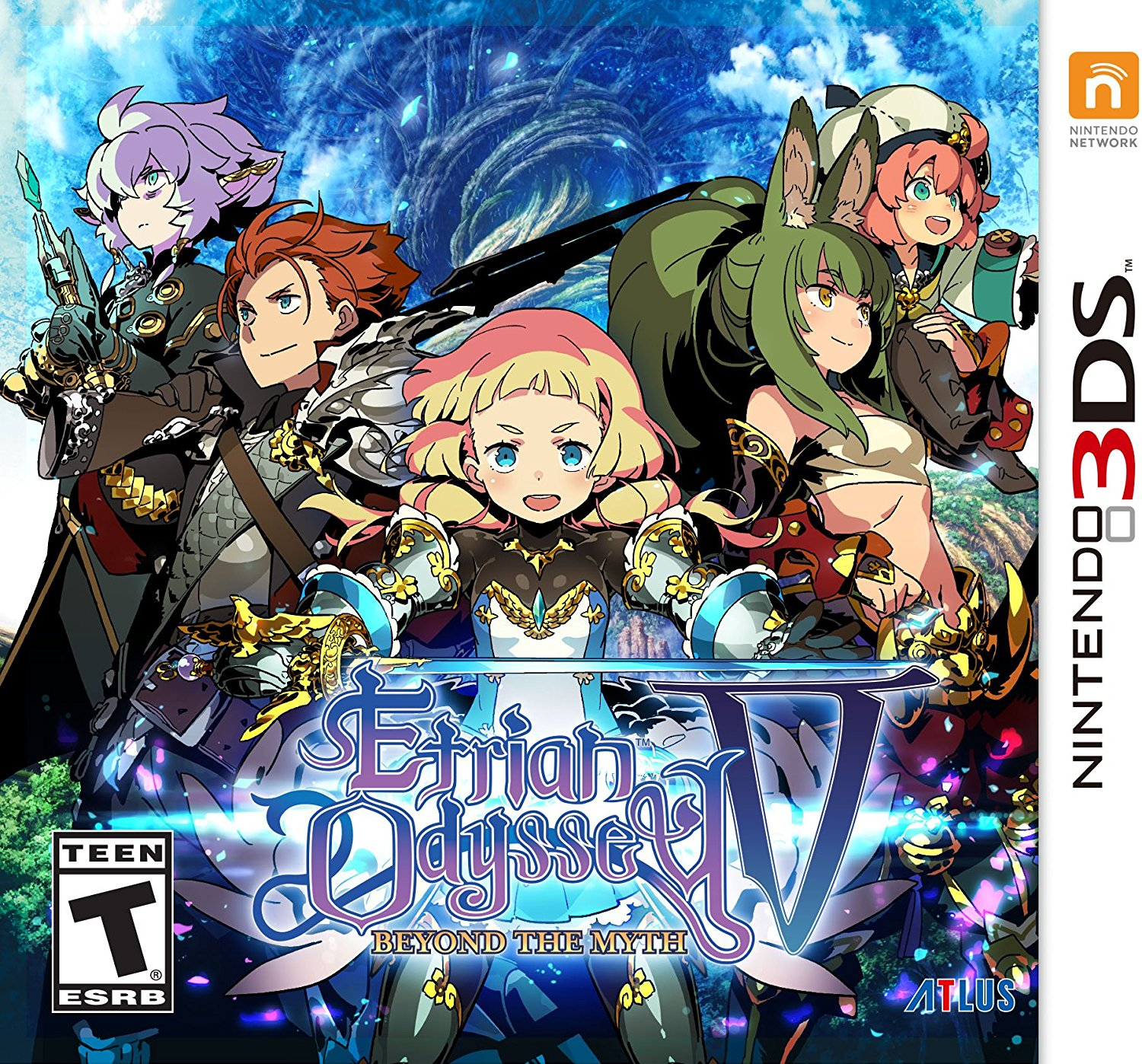Download 3DS CIAs: Etrian Odyssey V: Beyond The Myth