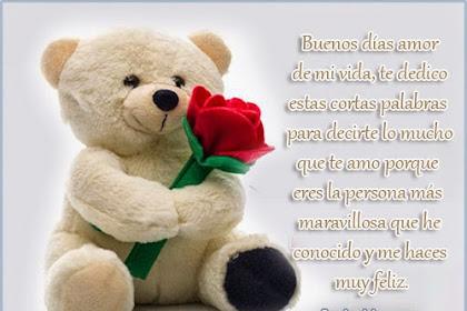 Frases De Buenos Dias Mi Amor Te Amo