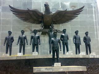 Pelecehan Terhadap 7 Patung Pahlawan Revolusi di Monumen Letda Sujono di Simalungun