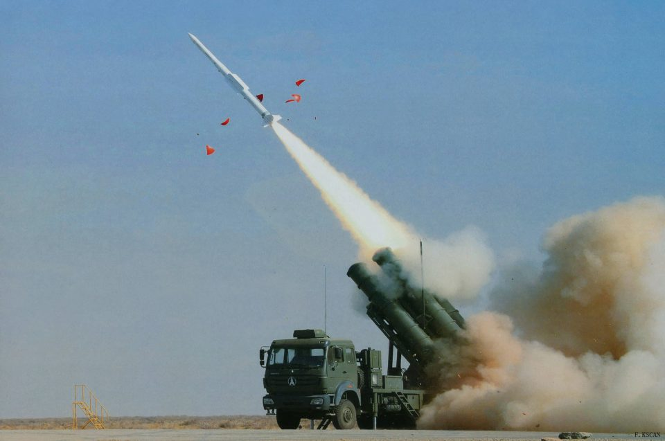 SAM (surface-to-air missile) Sky Dragon 50