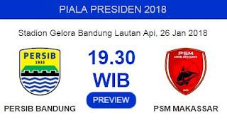 PSM Makassar Kirim Pemain Inti untuk Melawan Persib Jumat