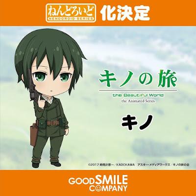 "Nendoroid de Kino de ""Kino no Tabi – The Beautiful World"" - Good Smile Company"