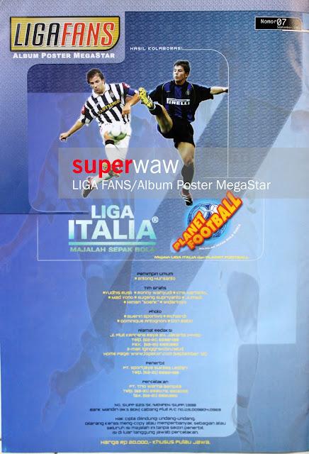 Liga Fans - Album Poster Megastar
