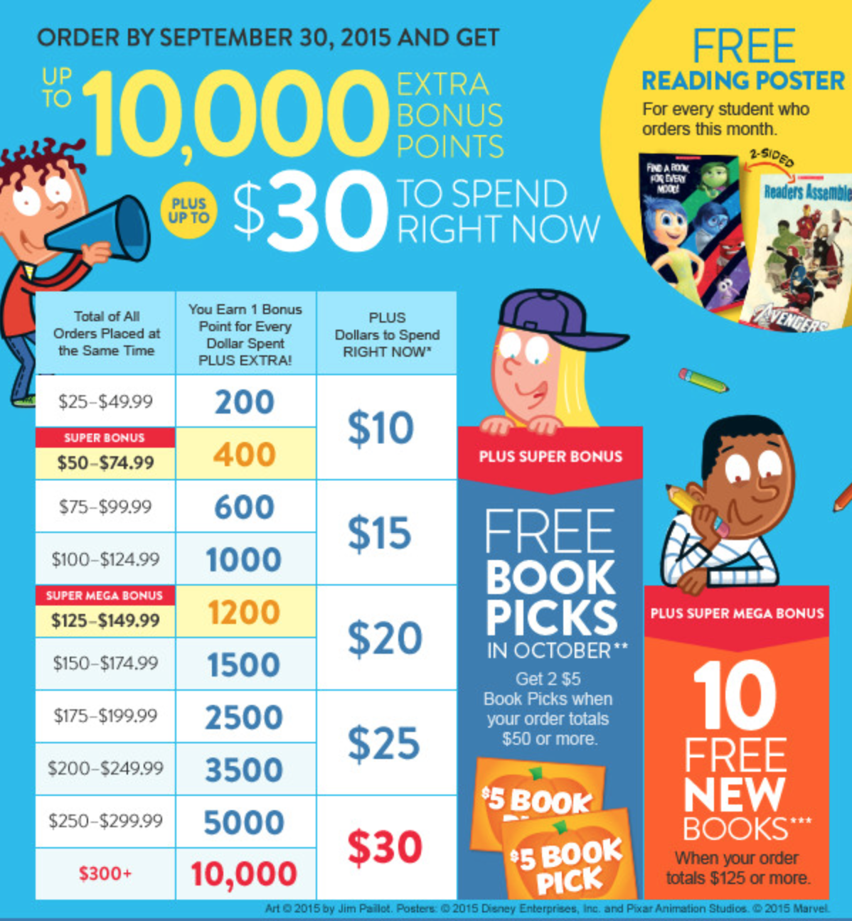 scholastic book coupon code march 2019