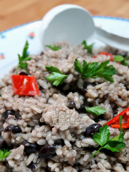 Arroz con frijoles - Jamaica #Cocinas DelMundo