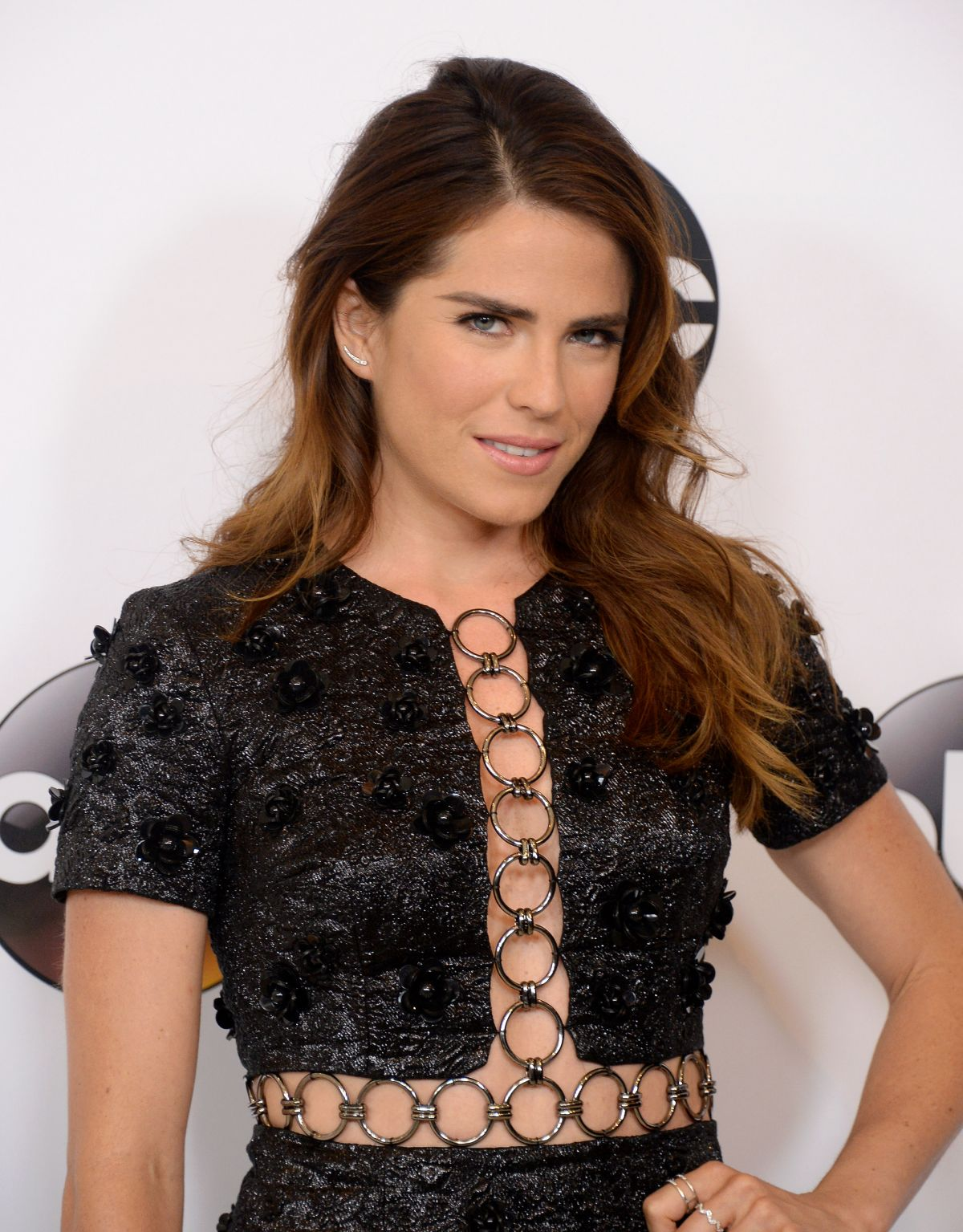 HQ Photos of Jacob's Ladder actress Karla Souza at Disney ABC Television TCA Summer Press Tour in Beverly Hills
