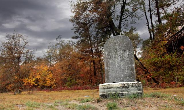 haunted Pere Cheney graveyard Michigan