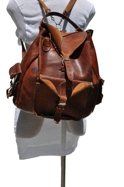 Goodbye Heart Vintage Vintage Leather Back Pack Vintage