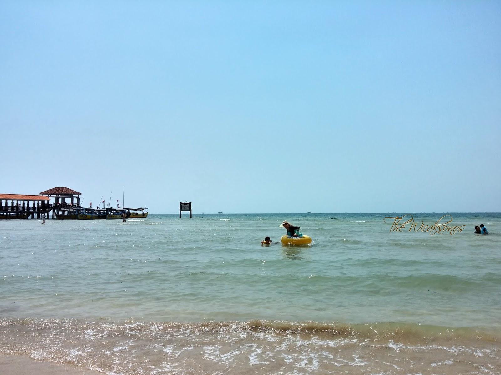 Pantai Bandengan Lebih Indah dan Lebih Mudah Diakses Ketimbang Pulau Panjang