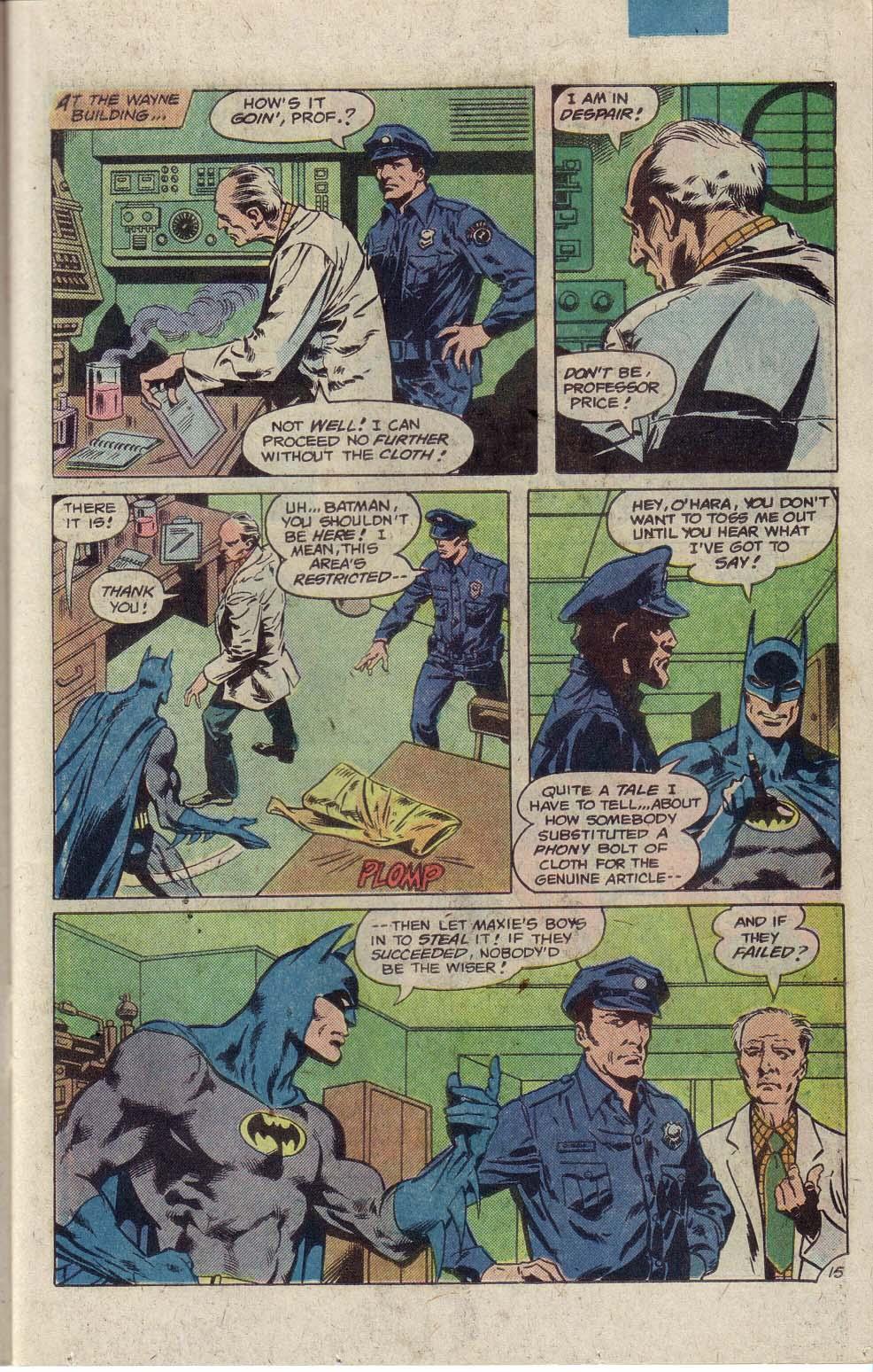 Detective Comics (1937) 491 Page 17