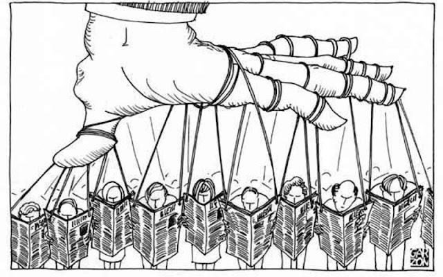 Estudio en Alemania concluye la existencia de una alianza corrupta entre medios y poder en México.