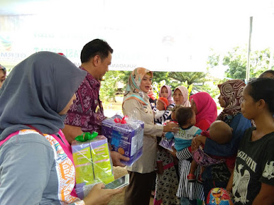 Bupati Lampung Timur Launching Program Sambang Gizi dan Sanitasi Sehat