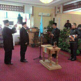 Syafriadi Resmi Menjadi Anggota DPRD Sungai Penuh