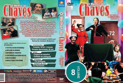 Série O Melhor do Chaves Volume 8 DVD Capa