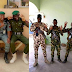 Nigerian policemen, soldiers nabbed endorsing Buhari publicly