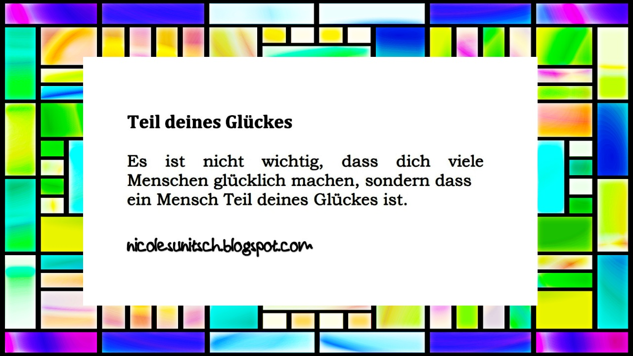 Gedichte Von Nicole Sunitsch Autorin Spruche Teil Deines