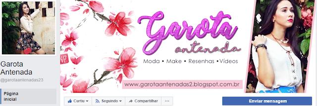 Artes para redes sociais: Facebook e Youtube Garota Antenada