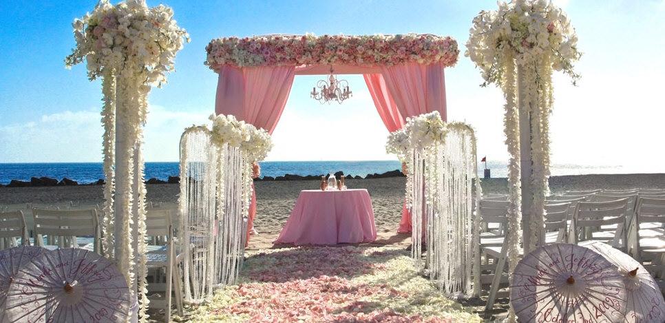 Beach Wedding Ceremony Decorations: Inspiration Songket Affairs : February 2012